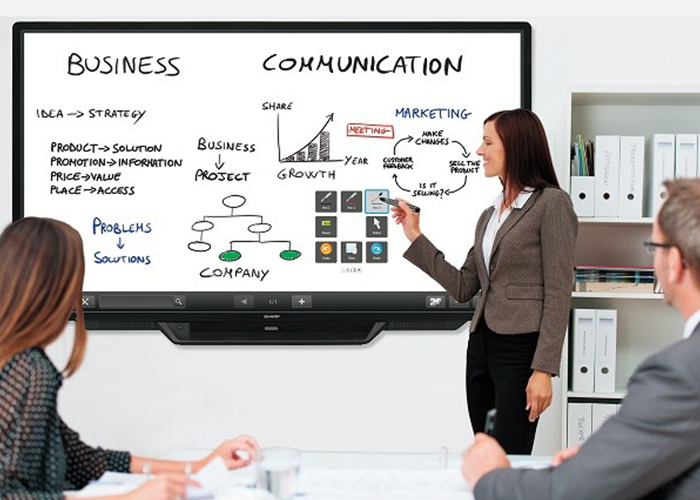 Interactive Office and Classroom Display