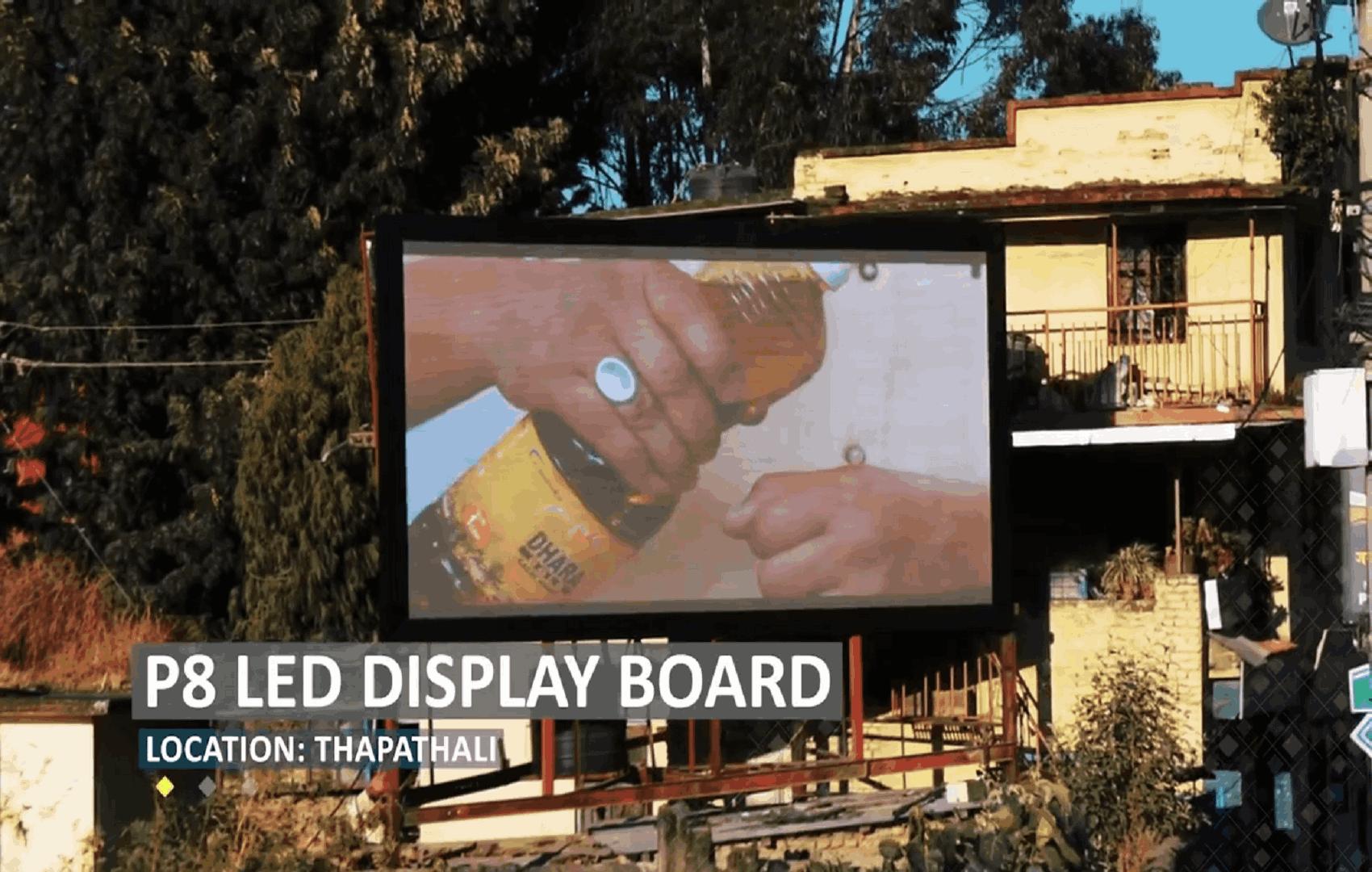 Digital Display – Thapathali