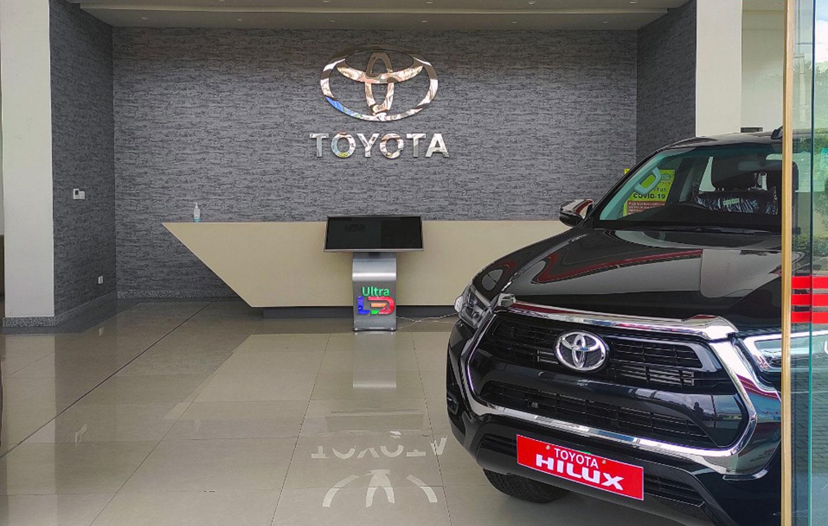 Toyota Standee